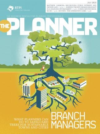 The Planner magazine cover
