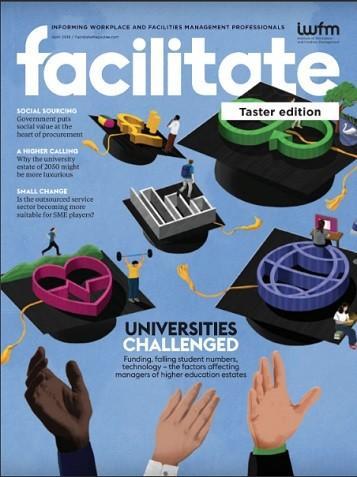 Facilitate magazine cover