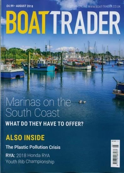 Boat Trader magazine cover