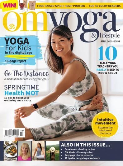 OM Yoga & Lifestyle magazine cover