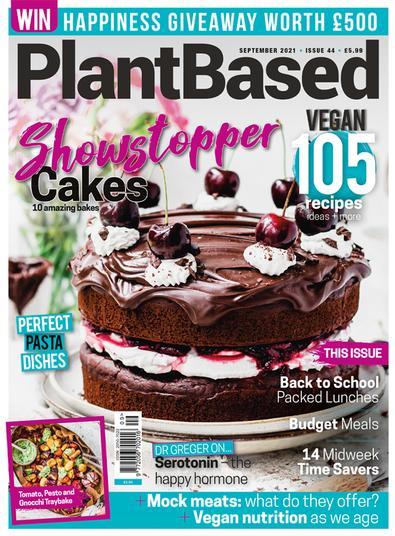 PlantBased magazine cover