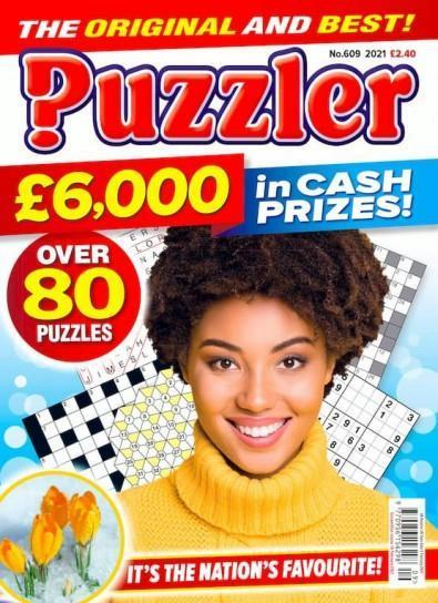Puzzler magazine cover