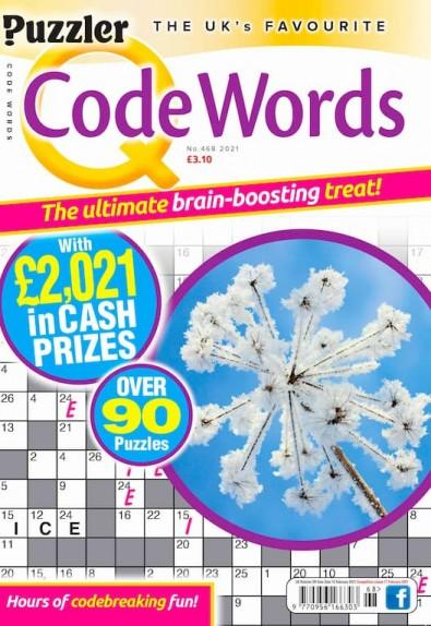 Q Code Words magazine cover
