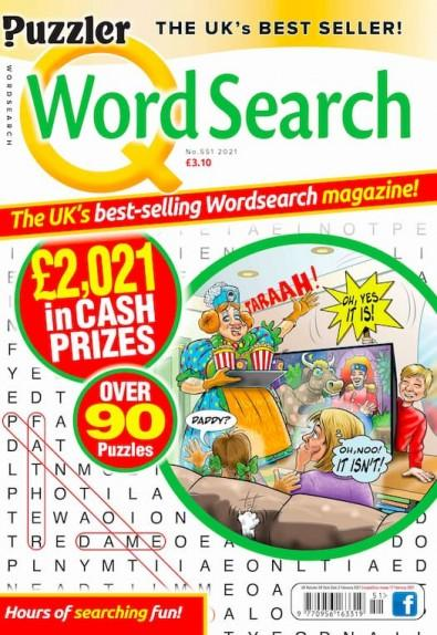Q Word Search magazine cover