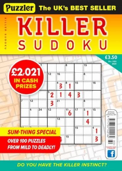 Puzzler Killer Sudoku magazine cover