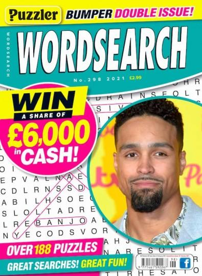 Puzzler Wordsearch magazine cover