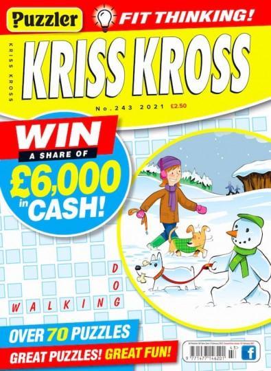Puzzler Kriss Kross magazine cover