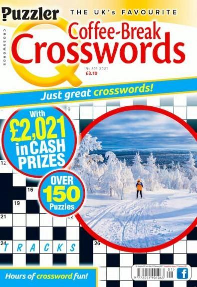 Q Coffee-Break Crosswords magazine cover