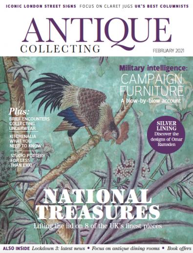 Antique Collecting magazine cover
