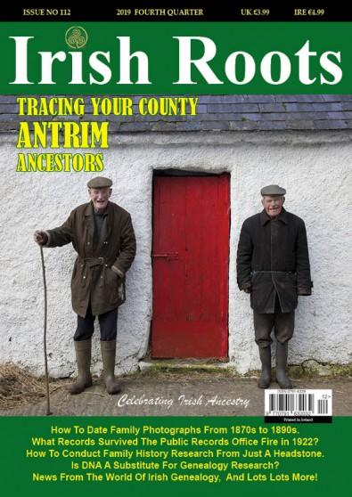 Irish Roots magazine cover
