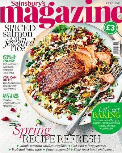 Sainsbury's Magazine cover