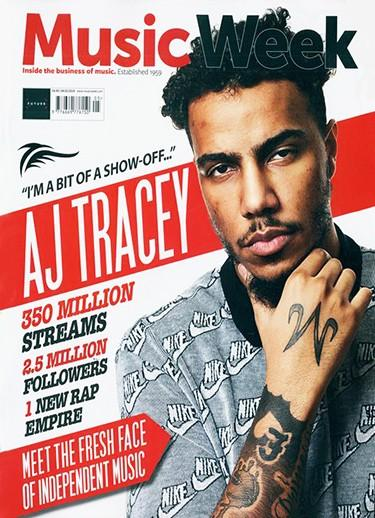 Music Week magazine cover