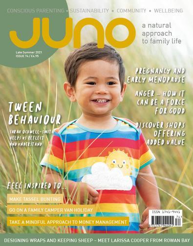 JUNO magazine cover