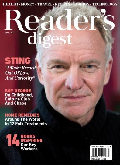 Reader's Digest magazine cover