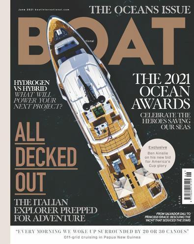 Boat International magazine cover