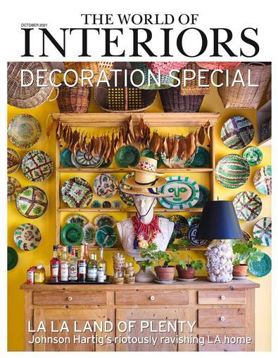 The World Of Interiors magazine cover