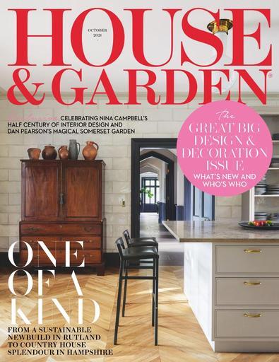 House & Garden magazine cover