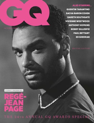 GQ magazine cover