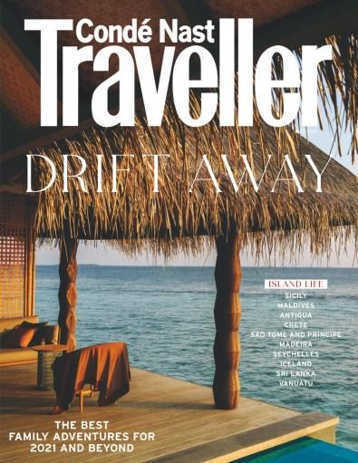 Conde Nast Traveller magazine cover