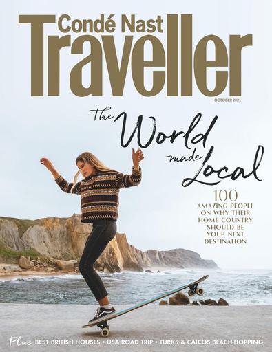 Conde Nast Traveller magazine cover