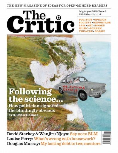 The Critic magazine cover