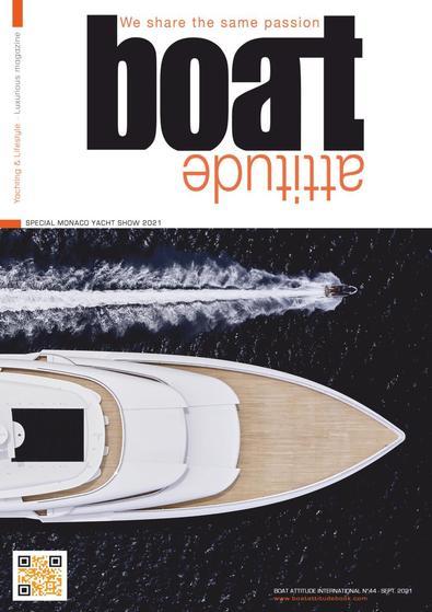 Boat Attitude magazine cover