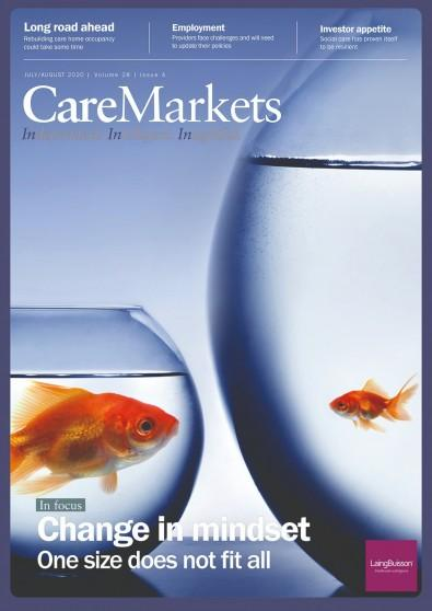 CareMarkets magazine cover