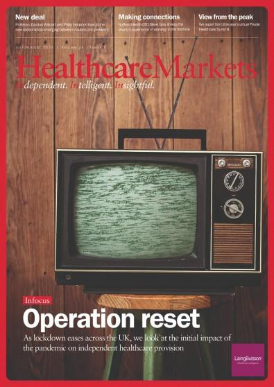 HealthcareMarkets magazine cover