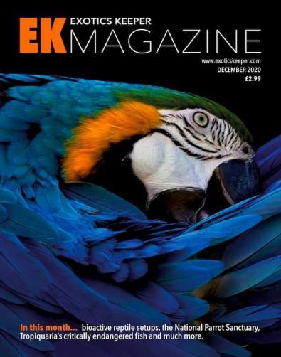 Exotics Keeper magazine cover