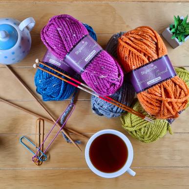 Knitting + Crochet 'Just Yarn' Box cover
