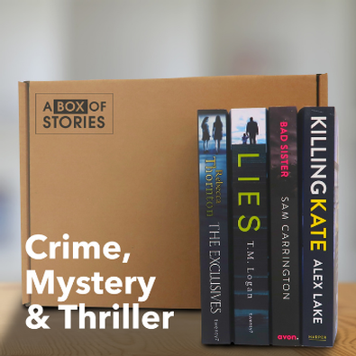 Crime, Mystery & Thriller Box of 4 Surprise Books - A Box of Stories cover