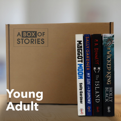 Young Adult Box of 4 Surprise Books - A Box of Stories cover