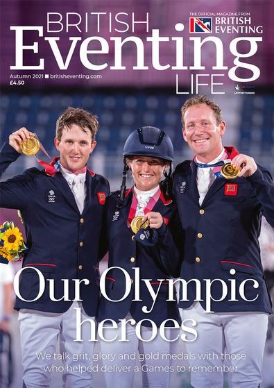 British Eventing Life magazine cover