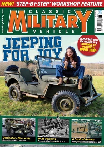 Classic Military Vehicle magazine cover
