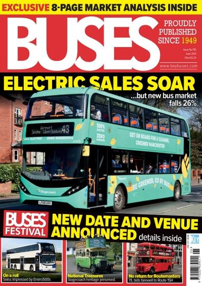 Buses Magazine cover