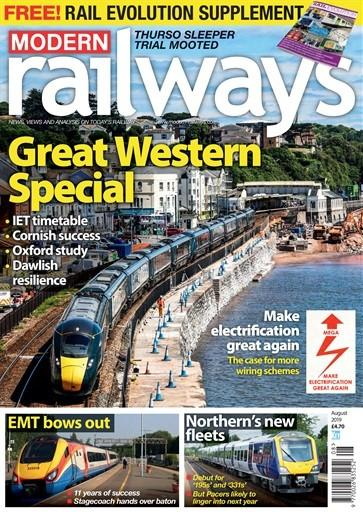 Modern Railways magazine cover
