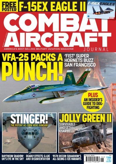 Combat Aircraft magazine cover