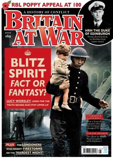 Britain At War magazine cover
