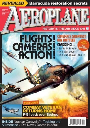 Aeroplane Monthly magazine cover