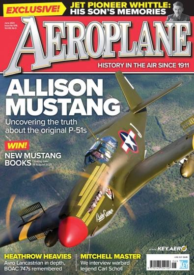 Aeroplane Monthly magazine cover