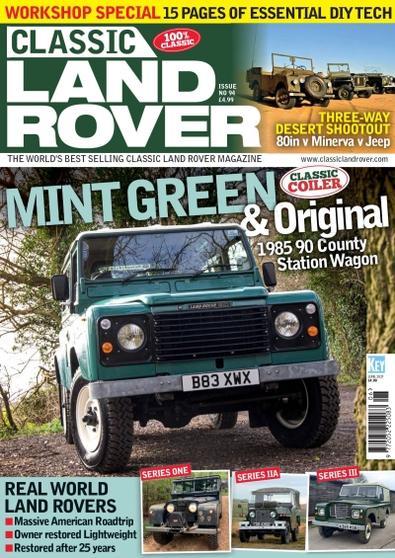 Classic Land Rover magazine cover