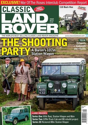 Classic Land Rover magazine cover