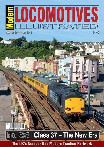 Modern Locomotive Illustrated magazine cover