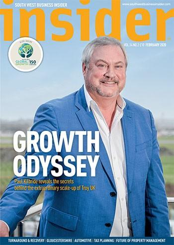 South West Business Insider magazine cover
