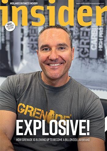 Midlands Business Insider magazine cover