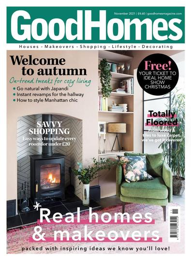Good Homes magazine cover