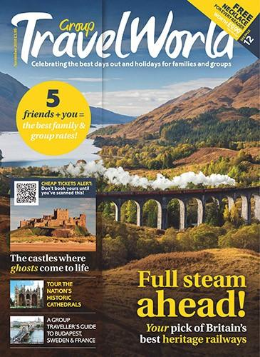 Group Travel World magazine cover