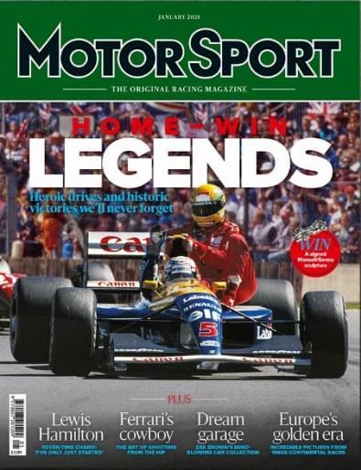 Motor Sport magazine cover