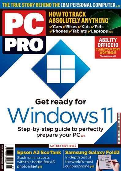 PC Pro magazine cover