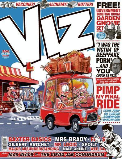 Viz magazine cover